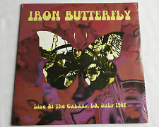 IRON BUTTERFLY Live at the Galaxy, LA, July 1967 - Vinyl LP SEALED
