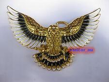 New American Open Wings Eagle Enamel Metal Western Cowboy Mens Belt Buckle