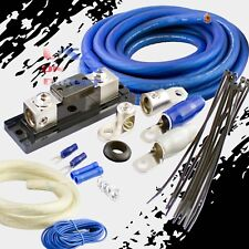 0 GAUGE AWG 100% OFC COPPER POWER AMP KIT AMPLIFIER WIRING INSTALL 4000 WATTS US