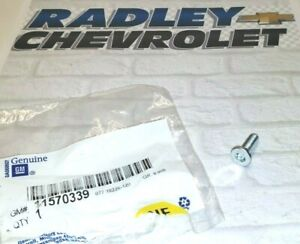 11570339 NEW GM OEM FRONT BRAKE ROTOR BOLT CHEVROLET GMC CADILLAC B61