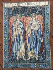 Angels tapestry - Angeli Laudantes wall hanging arras 85 x 120cm