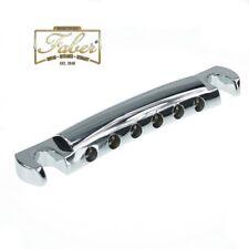 Faber TP59C, TP-59-C, Vintage Spec Aluminium Tailpiece Stoptail Chrome Gloss