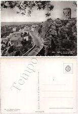 Cartolina di Paola, pubblicità Necchi e castello - Cosenza