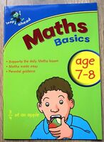 Maths Educational Activity Book Year 3 Home Learning Children Age 7 8 exercises