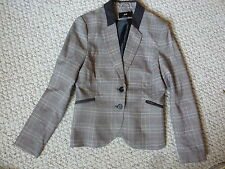 H&M Button Checked Coats & Jackets for Women