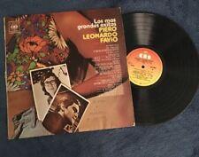 LP Los Mas Grandes Exitos Piero Leonardo Favio Record