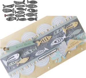 Fish Metal Cutting Dies Stencil Scrapbooking Embossing Album Craft Card DIY UK