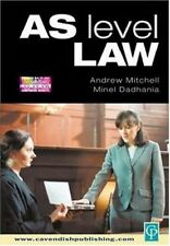 Very Good, As Level Law, Mitchell, Andrew R., Dadhania, Minel, Book