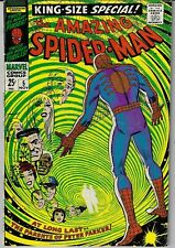 THE AMAZING SPIDER-MAN KING SIZE ANNUAL # 5 MARVEL 1968