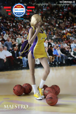 1/6 scale NBA Lakers Cheerleader Suit B for 12'' female figure body Phicen