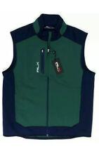 Ralph Lauren RLX Softshell Golf Vest Green Blue Size Medium NWT $145