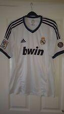 Mens Football Shirt - Real Madrid - Adidas - Home 2012-13 - 110Y ANNIVERSARY - L