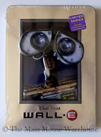 Disney Pixar Wall·E Wall-E Wall E on DVD in Real 3D Collectible Tin Packaging
