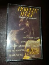 HOWLIN' WOLF - Moanin at Midnight Cassette Sealed Holland Import