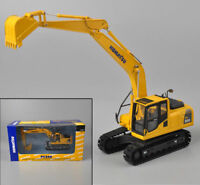KOMATSU 1/50 Yellow PC200 Type Engineering Excavator Diecast Model Alloy Toy