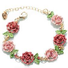 Flower Bracelet Betsey Johnson Rhinestone