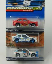 Hot Wheels Ford Escort Rally Lot '98 1st Editions, UNO Game Series & Racing