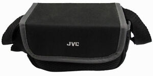 JVC Universal Camcorder Camera Bag Padded Pouch Soft Case Black Shoulder Strap