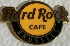 """Hard Rock Cafe BRUSSELS 2018 Classic HRC Logo MAGNET 2.75"""" x 2"""" New CITY CORE"""