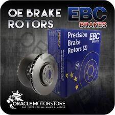 NEW EBC OE PREMIUM REAR DISCS PAIR BRAKING DISCS OE QUALITY - D630