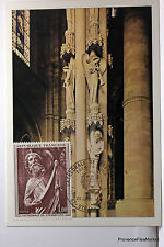 Yt1654 COLONNE DES ANGES STRASBOURG   CPA MAXIMUM POSTCARD  CARTE 1° JOUR FRANCE