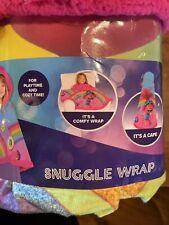 DreamWorks Trolls World Tour Poppy Snuggle Wrap Hooded Cape Kids Throw Blanket