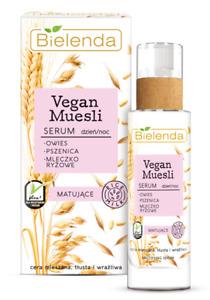 Bielenda Vegan MuesIi Moisturizing Nourishing Face Serum Mixed Oily Skin 30ml