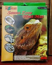NEW KRITTERZ SAUNA ZONE HEAT MAT FOR REPTILE WITH ORIGINAL BOX