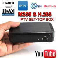 iBRAVEBOX M258 Home OTT Set Top Box H.265 WiFi Smart HDMI Media Streamers