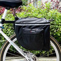 Multi Function Bicycle Bag Bike Rear Seat Carrier Basket Rack Pannier Waterproof