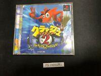 CRASH BANDICOOT 2 Ref/ccc PS1 Playstation Japan Game p1