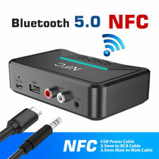 Wireless Bluetooth NFC Receiver 5.0 aptX LL RCA 3.5mm Jack Aux Audio Adapter USA