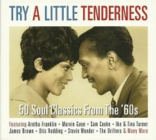 TRY A LITTLE TENDERNESS - 2 CD BOX SET - 50 SOUL CLASSICS FROM THE 60s