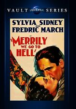 Merrily We Go to Hell 1932 (DVD) Sylvia Sidney, Fredric March, Cary Grant - New!