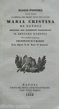 NAPOLI_S. ANNA DEI LOMBARDI_SAVOIA_ANTICO NECROLOGIO_MARESCA_RARA EDIZIONE_1836