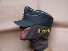 WW2 German Wehrmacht Officer's HBT Summer M43 Field Cap Repro