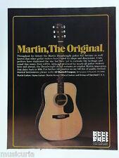retro magazine advert 1982 MARTIN guitars , 150 years