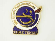 1996 Atlanta Paralympic Table Tennis Olympic Pin Ping Pong