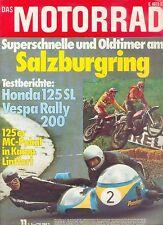 1138MO Motorrad 1974 11/74 Puch 175 MC Honda SL 125 Vespa Rally 200 Motorroller