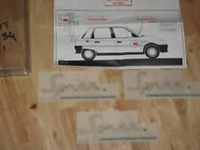 NEW Genuine Citroen AX Spree Ltd Edition decal stickers