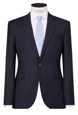 New* JOHN LEWIS Super 100's Shadow Stripe Mens Suit Jacket Navy UK Size 42S £140