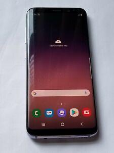 Samsung Galaxy S8 -G950U- 64GB - Grey -Verizon unlocked - ScrnCrck # Jy334
