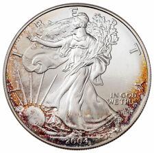 2004 American Silver Eagle Toned GEM BU CPCR SKU66214