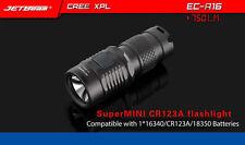 Jetbeam Niteye EC-R16 CREE XP-L 750 Lumens USB Rechargeable Flashlight Torch
