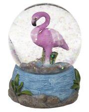 Schüttelkugel Flamingo Schneekugel Glitzerkugel Traumkugel Glaskugel maritim