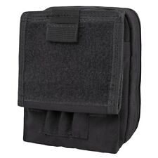 Condor MA35 BLACK MOLLE Modular MOD Tactical Map ID Admin Chart Pouch