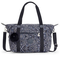 kipling Basic Plus Eyes Wide Open Art Tote Schultertasche Soft Feather