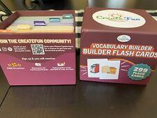 CreateFun Vocabulary Builder Bundle | Speech Therapy Flash Cards | Adults & Kids