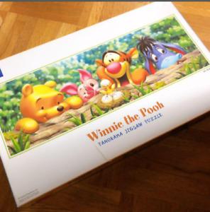 Disney 950 Pieces Panoramic Jigsaw Winnie The Pooh Nice To Meet You used
