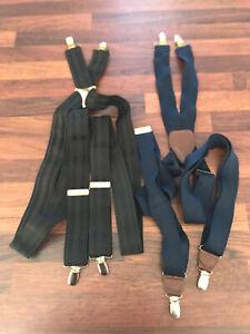 Mens Vintage Retro 2 X adjustable Braces Suspenders Peeky Blinders